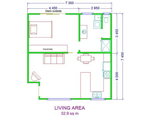 one-bedroom-unit-layout