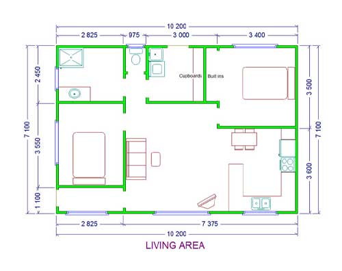 two-bedroom-unit-layout